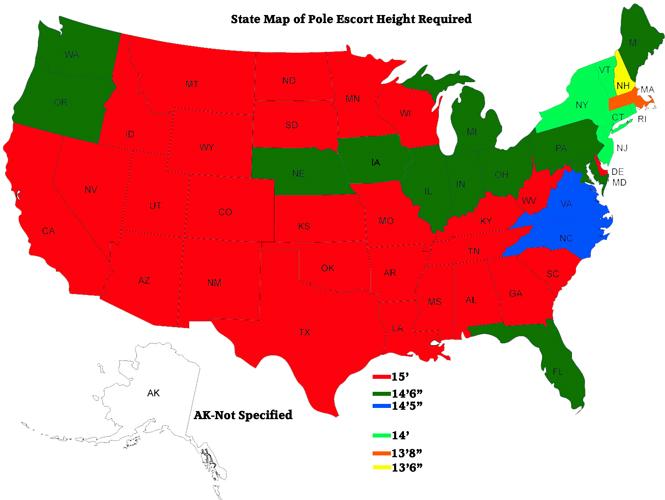 pole escort height map