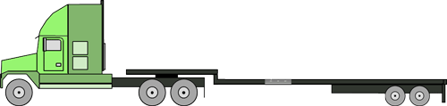 stepdeck 5 axle stretch