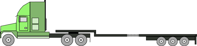 Step Deck Stretch 6 Axle