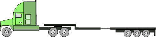 stepdeck 6 axle stretch