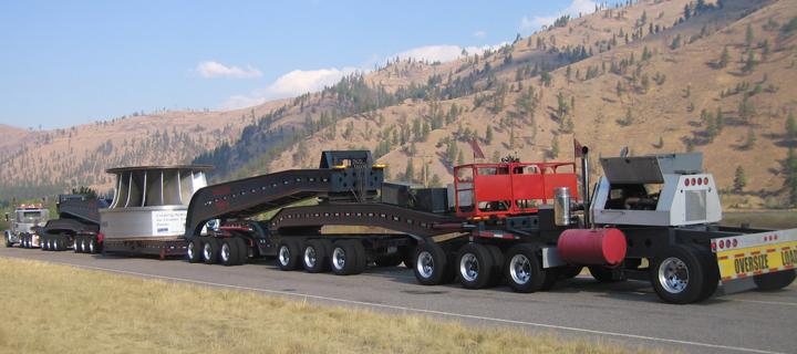 Super Load Hauling Heavy Haul Trucking